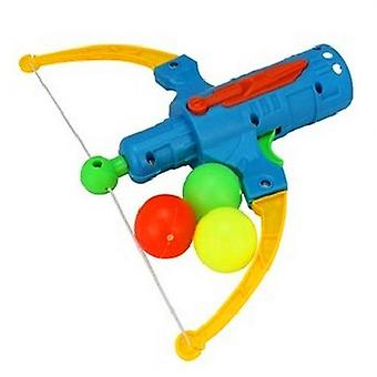 Arrow Table Tennis Gun Bow Archery, Plastic Ball Flying Disk, Shooting Toy