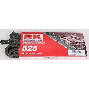 RK 525 x 92 Link Street Motorcycle Chain Black