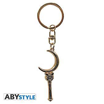 Sailor Moon - Moon Stick 3D nyckelring