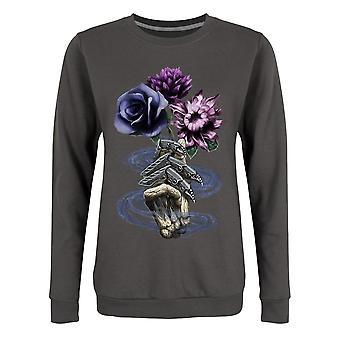 Requiem Collective Womens/Ladies Deaths Bouquet Sweatshirt