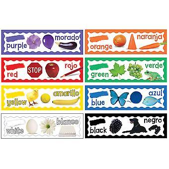 Colores Mini Conjuntos de Tableros de Boletín