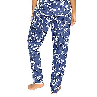 Cyberjammies Libby 4769 Pantalon pyjama en coton floral Indigo