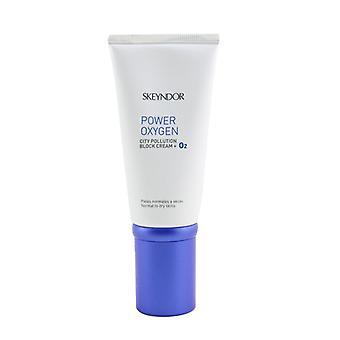 SKEYNDOR Power Oxygen City Pollution Block Cream + O2 (For Normal To Dry Skin) 50ml/1.7oz