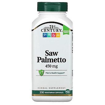 Siglo XXI, Saw Palmetto, 450 mg, 200 Cápsulas Vegetarianas