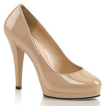 בבקשה נשים'נעליים ורוד עירום פט / עירום