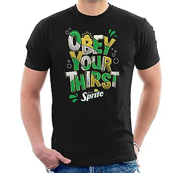 Sprite Enjoy And Obey Your Thirst Men's T-Shirt
