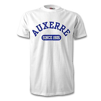 Auxerre 1905 Established Football T-Shirt