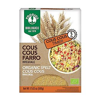 Wholemeal spelled couscous 500 g