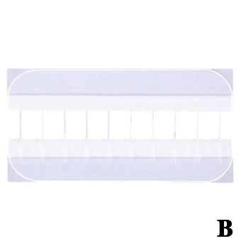 4/10Pcs zipper band-aid painless wound closure device without zip suture dressing needles patch suture-free wound aid band