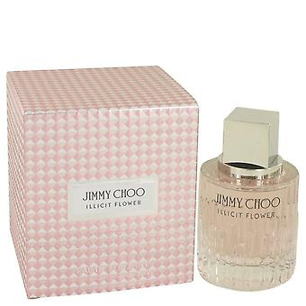 Jimmy Choo olaglig Flower Eau De Toilette Spray av Jimmy Choo 2 oz Eau De Toilette Spray
