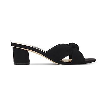 Neuf West Womens Kayla Leather Open Toe Casual Slide Sandals