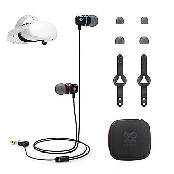 Ear-in Headphone 2 Vr Noise Isolating Earbuds Earphones For Oculus Quest