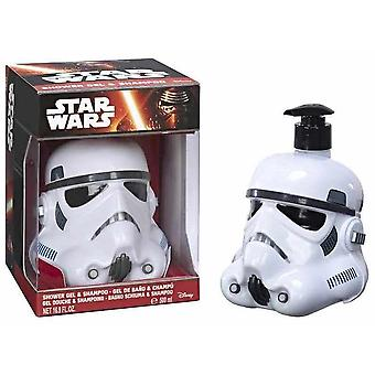Airval Star Wars Figura 3D stormtrooper gel+champú 500 ml