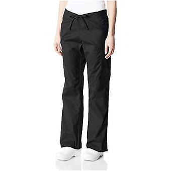 Dickies Donna's Signature Mid Rise Coulisse Scrubs Cargo Pant, Nero, X-Large