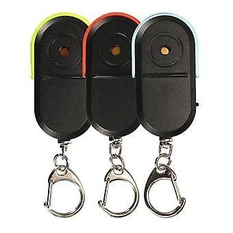 Whistle Sound Led Light Anti-lost Alarm Key Finder Locator Keychain Device