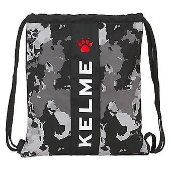 Backpack with Strings Kelme Black Grey