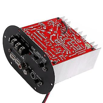 Car amplifier board 12v high power subwoofer amplifier 120w full tone pure bass car subwoofer core 8-12 inch