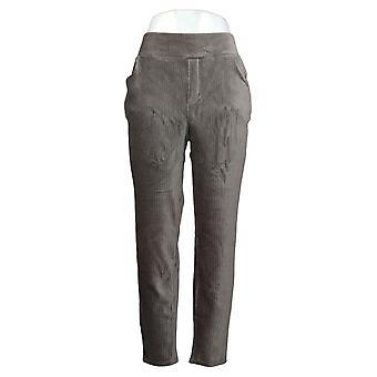 Pantaloni da donna in denim & co. Leggings in vita liscia regolare Grigio A388785