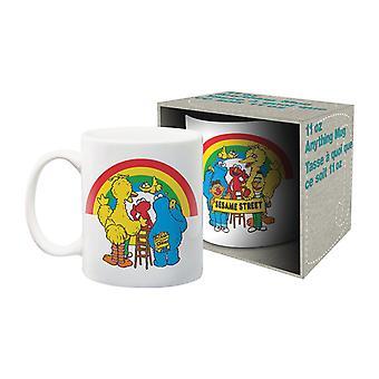 Sesame street - cast ceramic mug