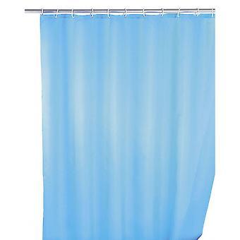 duschdraperi 180 x 200 cm polyester ljusblå