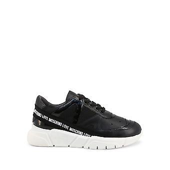 Love Moschino - Shoes - Sneakers - JA15323G1CIU2-00A - Women - black,white - EU 37