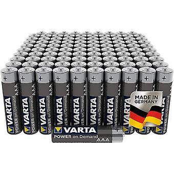 FengChun Power on Demand AAA Micro Batterien (100er Pack Vorratspack in umweltschonender Verpackung