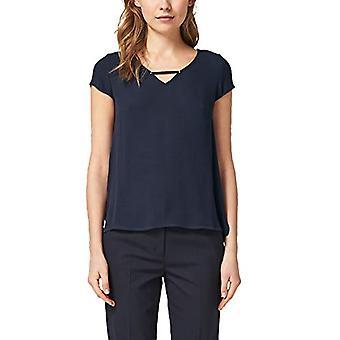 s.Oliver BLACK LABEL 01.899.32.5148 T-Shirt, Blue (True Blue 5959), 44 (Size Manufacturer: 38) Woman