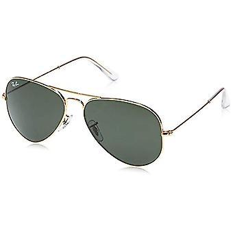 Ray-Ban Aviator, Adult Unisex Sunglasses, Gold (L0205 Gold), 58 mm(2)