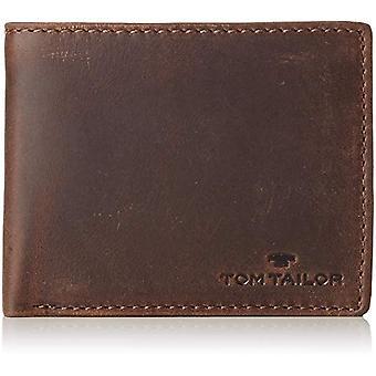 Tom Tailor Acc Ron - Men's Wallet, Brown (Braun), 12.5x9.5x2 cm (B x H T)