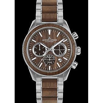جاك ليمانز ساعة اليد UNISEX الطاقة البيئية 1-2115J