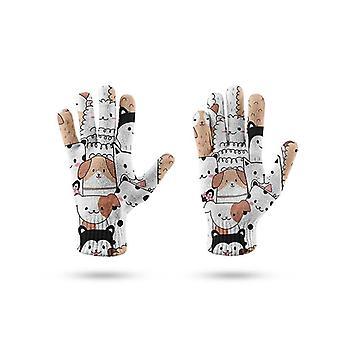 3d Imprimarea femei bărbați Mănuși