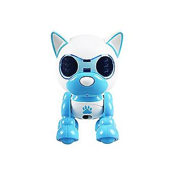 Halolo Electronic Smart Robot Dog Puppy Pet Robot Toy Robots for Toys for Children|RC Robot(Blue)