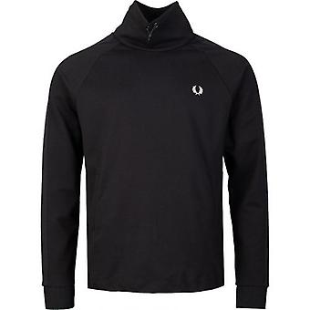 Fred Perry Tonal Funnel Neck Track Top