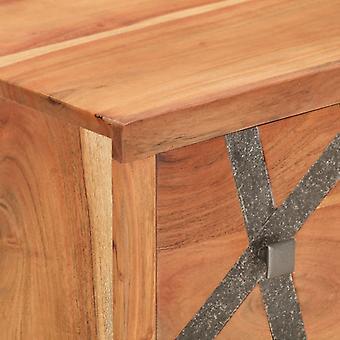 vidaXL Sideboard 60×30×75 cm Akazie Massivholz