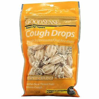 Good Sense Cough Drops Honey Lemon, 30 Drops