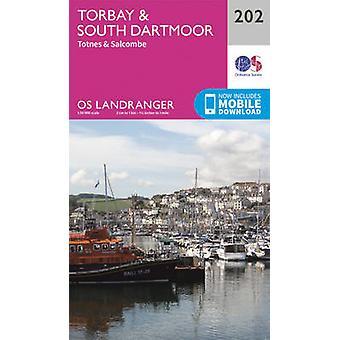 Torbay Zuid-Dartmoor Totnes Salcombe door Ordnance Survey