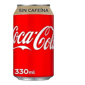 Osvěžující nápoj Coca-Cola bez kofeinu (33 cl)