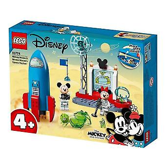 Playset Duplo Mickey Mouse & Minnie Mouse's Space Rocket  Lego 10774 (88 pcs)