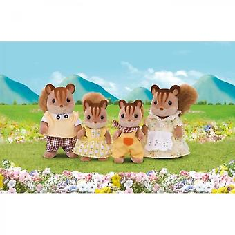 Sylvanian Families Family Ecureuil Roux Dolls