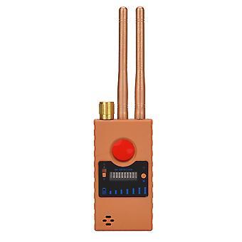 Drahtlose Kamera RF Signal Detektor, Abhörgerät GPS Detektor Anti-Abhörsignal Detektor RF / GSM Abhörgerät Finder Anti-Sneak Shooting, Verwendet in Hotels, Geschäftsverhandlungen, (gold)