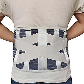 Widen belt waist bodybuilding braces&supports belt orthopedic posture corrector brace waist