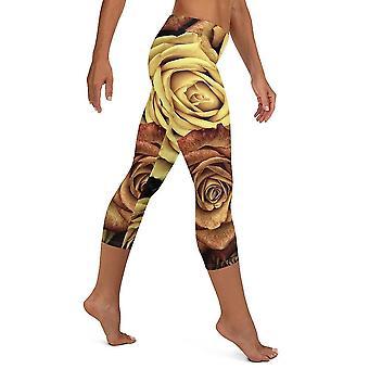 Hosiery golden rose capri leggings