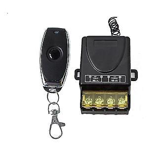Fernbedienungen 433 MHz AC 220V 30a Relais Drahtlose RF Fernbedienung Schalter 1Ch Sender sm160559