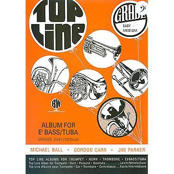 Top Line Album for Eb Bass/Tuba Bass Clef (tuba/Eb Bass)