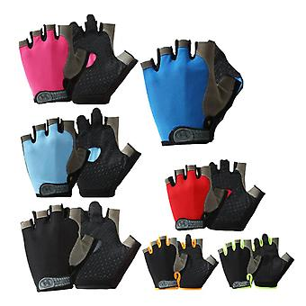 Quick Dry Breathable Half-finger Riding Gloves
