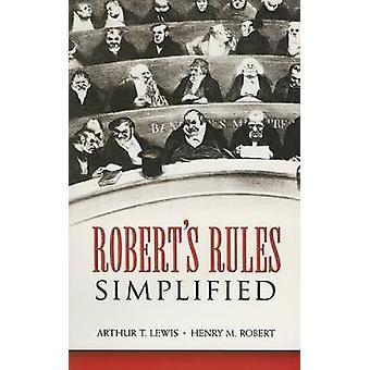 Roberts regler förenklade av Arthur T Lewis