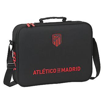 Shoulder Bag Atlético Madrid Black 6 L