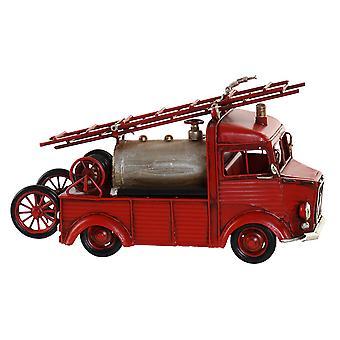 Vehicle DKD Home Decor Ornamental Vintage Fire Engine (29.5 x 11 x 17 cm)