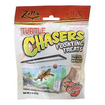Zilla Turtle Chasers Floating Treats - Shrimp - 2 oz