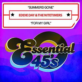 Eddie Day & Nitetimers - Sommer gegangen / für My Girl USA Import